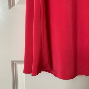 "J. Crew Dresses - J.Crew ""Sophia"" silk tricotine dress in geranium"
